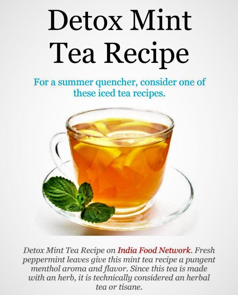 Ginger Lemon Honey Tea Detox