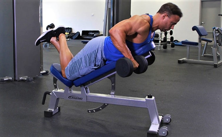 Two-Hand Dumbbell Row