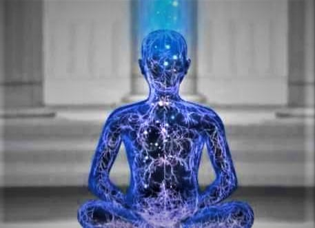What happens in deep meditation