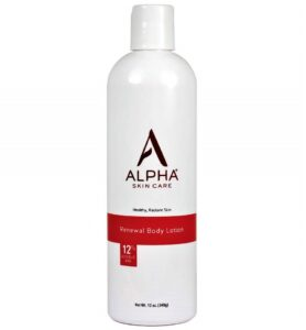 Alpha Skin Care Lotion for Crepey Skin