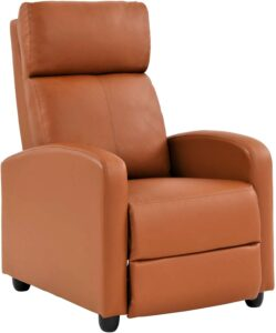 FDW Best Recliner Chair with Padded Seat