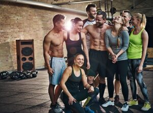 Invite your friends to a workout