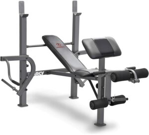 Marcy Standard Weight Bench with Leg Press