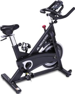 MaxKare Stationary Belt Drive Indoor Exercise Bike