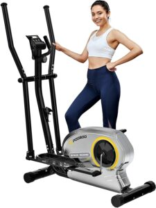 Pooboo Elliptical Trainer Magnetic Elliptical Machines