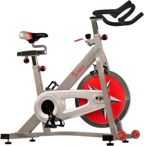 Sunny Health & Fitness Indoor Flywheel Cycling Bike