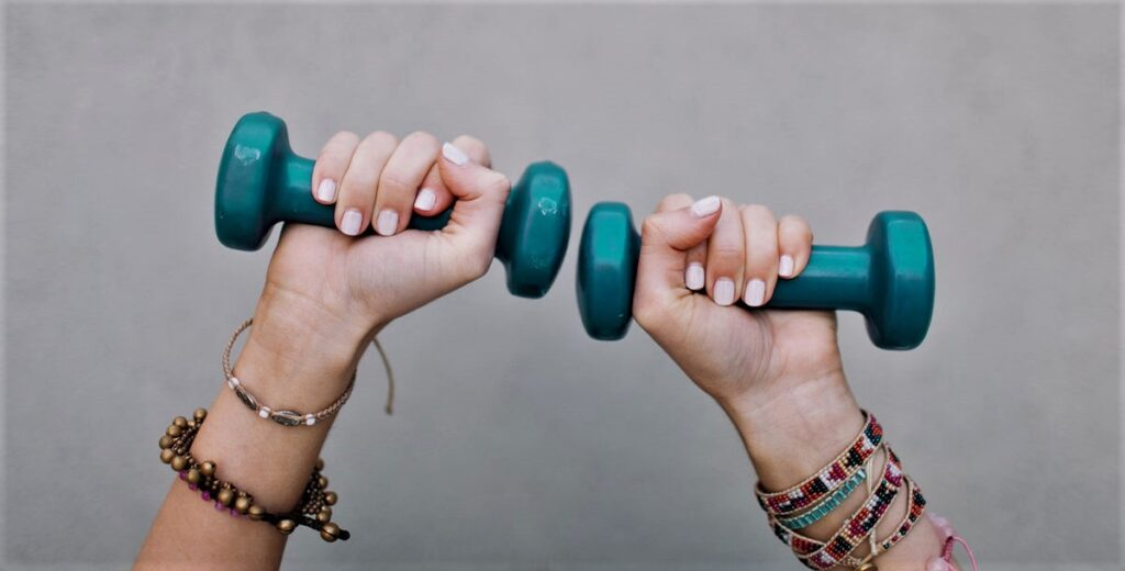 Workout plan for beginners at home with dumbbells