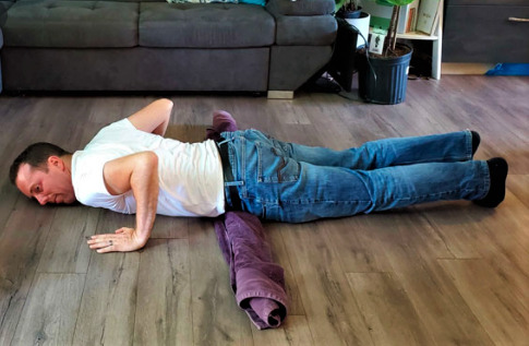 belly flops for back pain