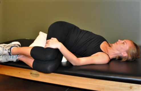flexion rotation for back pain