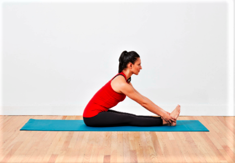 seat forward bend back pain solution
